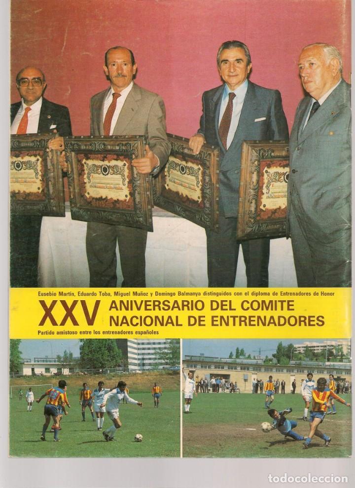 Coleccionismo deportivo: EL ENTRENADOR ESPAÑOL FUTBOL. Nº 21. MARZO 1984. (B/58) - Foto 3 - 163614054