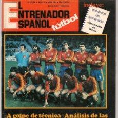 Coleccionismo deportivo: EL ENTRENADOR ESPAÑOL FUTBOL. Nº 16. CONTRAPORTADA. SELECCION FEMENINA DE FUTBOL. ABRIL 1983.(B/58). Lote 163615014