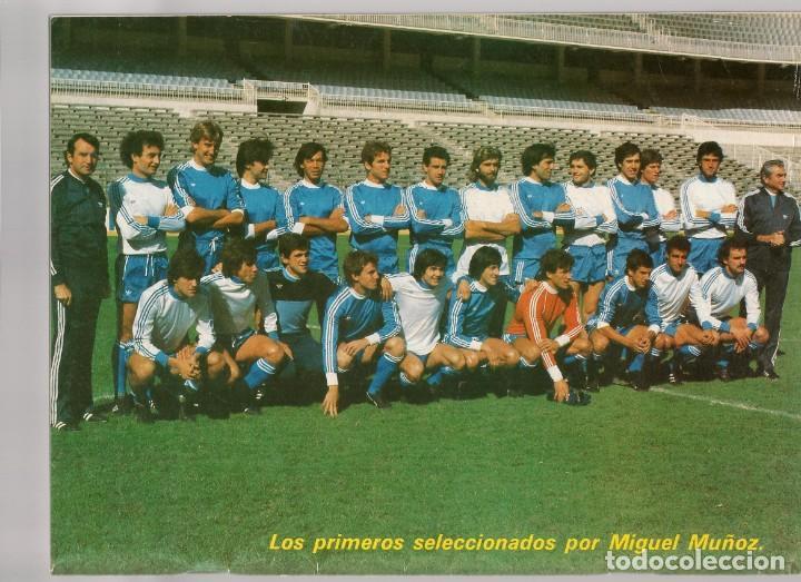 Coleccionismo deportivo: EL ENTRENADOR ESPAÑOL FUTBOL. Nº 14. CONT. LOS PRIMEROS SELECCIONADOS POR M. MUÑOZ. OCT. 1982.(B/58) - Foto 3 - 163615422