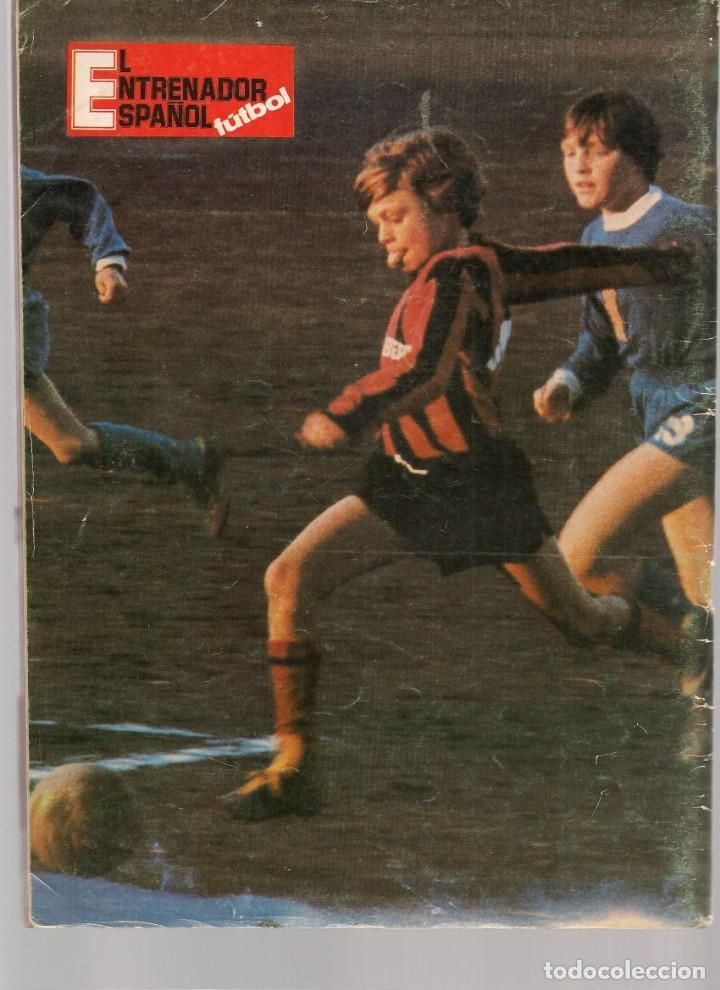 Coleccionismo deportivo: EL ENTRENADOR ESPAÑOL FUTBOL. Nº 9. JULIO 1981. (B/58) - Foto 3 - 163616122