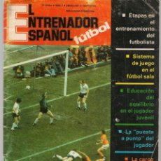 Coleccionismo deportivo: EL ENTRENADOR ESPAÑOL FUTBOL. Nº 7. ENERO 1981. (B/58). Lote 163616438