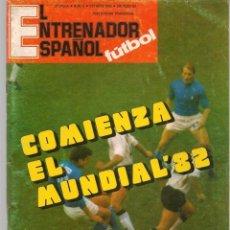Coleccionismo deportivo: EL ENTRENADOR ESPAÑOL FUTBOL. Nº 6. OCTUBRE 1980. (B/58). Lote 163616606