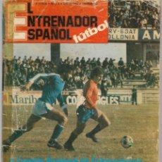 Coleccionismo deportivo: EL ENTRENADOR ESPAÑOL FUTBOL. Nº 3. ENERO 1980. (B/58). Lote 163617454