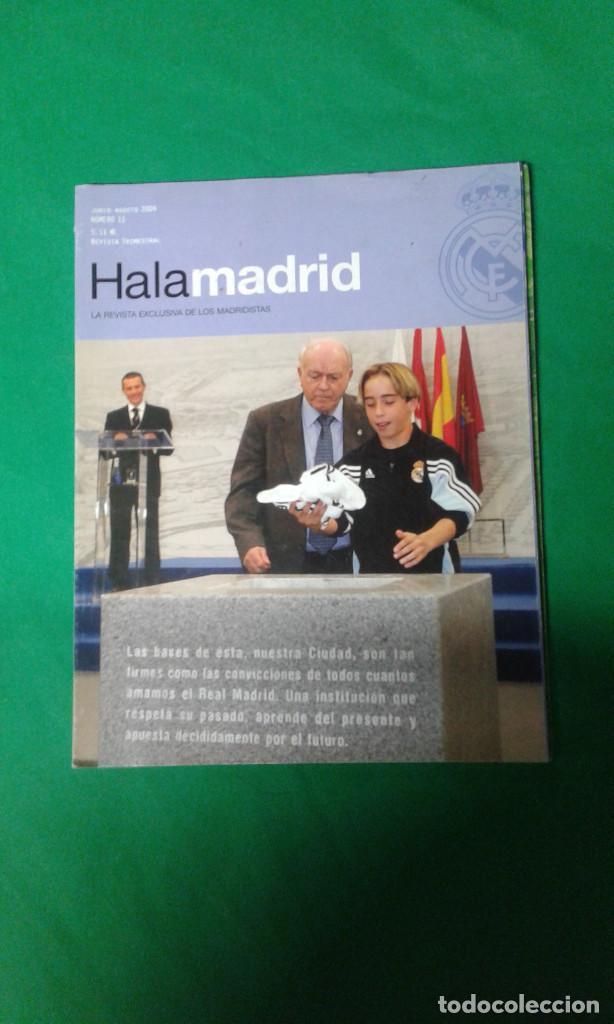 REVISTA TRIMESTRAL HALA MADRID AÑO 2004 (Coleccionismo Deportivo - Revistas y Periódicos - otros Fútbol)