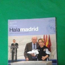 Coleccionismo deportivo: REVISTA TRIMESTRAL HALA MADRID AÑO 2004. Lote 163766154