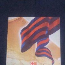 Coleccionismo deportivo: REVISTA CLUB DE FUTBOL BARCELONA-ENERO 1955. Lote 163967302