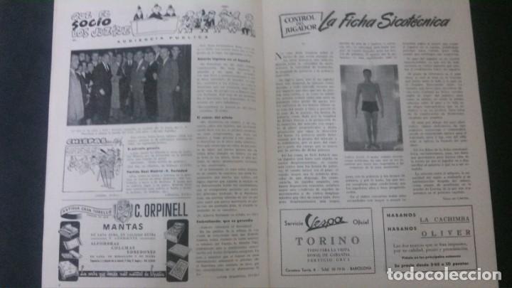 Coleccionismo deportivo: REVISTA CLUB DE FUTBOL BARCELONA-ENERO 1955 - Foto 2 - 163967302