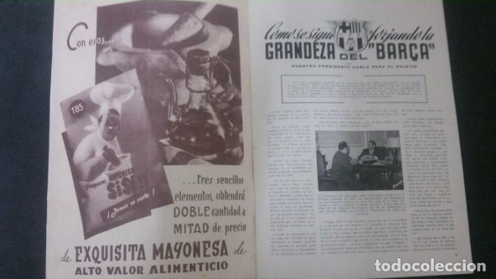 Coleccionismo deportivo: REVISTA CLUB DE FUTBOL BARCELONA-ENERO 1955 - Foto 3 - 163967302