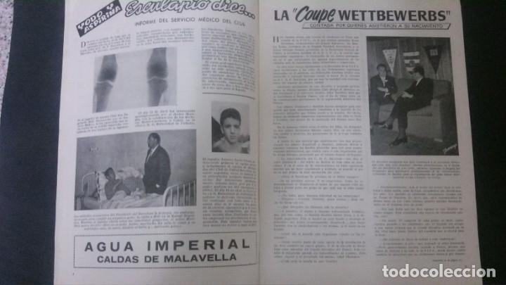 Coleccionismo deportivo: REVISTA CLUB DE FUTBOL BARCELONA-ABRIL 1955 - Foto 2 - 163967422