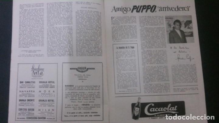 Coleccionismo deportivo: REVISTA CLUB DE FUTBOL BARCELONA-MAYO-JUNIO 1955 - Foto 2 - 163967562