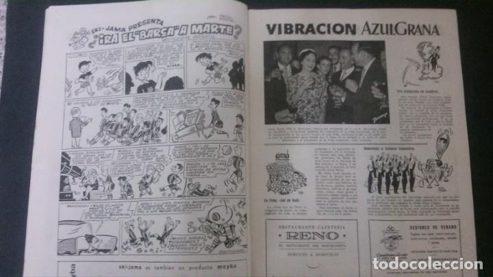Coleccionismo deportivo: REVISTA CLUB DE FUTBOL BARCELONA-MAYO-JUNIO 1955 - Foto 3 - 163967562