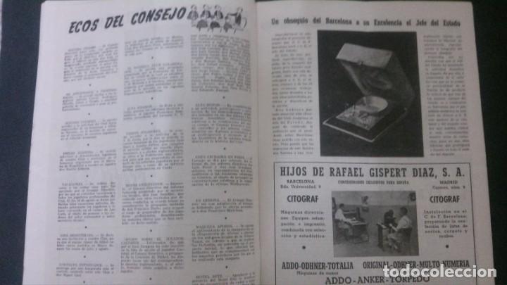 Coleccionismo deportivo: REVISTA CLUB DE FUTBOL BARCELONA-MAYO-JUNIO 1955 - Foto 4 - 163967562