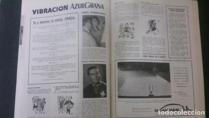 Coleccionismo deportivo: REVISTA CLUB DE FUTBOL BARCELONA-INFORMACION Nº 12- AÑO 1955 - Foto 4 - 163967738
