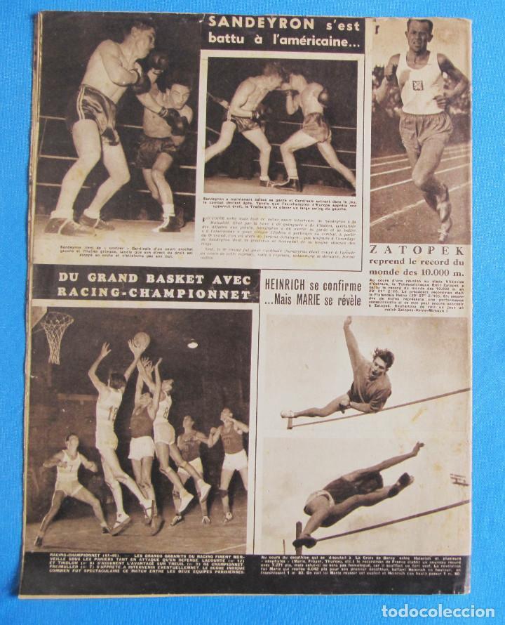 Coleccionismo deportivo: MIROIR SPRINT. 2 EJEMPLARES, Nº 176 Y 256. 1949 Y 1951. - Foto 2 - 164523314
