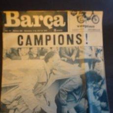 Coleccionismo deportivo: REVISTA BARÇA ESPECIAL CAMPEÓN DE LIGA 1974 , VER FOTOS. Lote 164717234