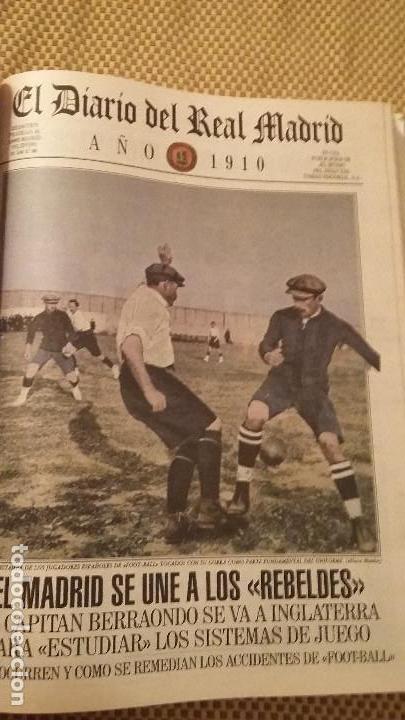 Coleccionismo deportivo: REAL MADRID C.F COLECCION HISTORICA - MATERIAL DIVERSO ( PERIODICOS, POSTER, LAMINAS) - Foto 2 - 164738194