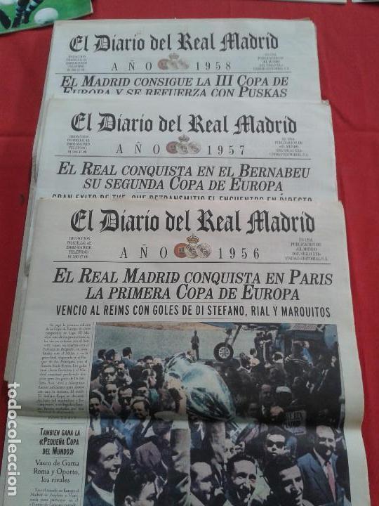 Coleccionismo deportivo: REAL MADRID C.F COLECCION HISTORICA - MATERIAL DIVERSO ( PERIODICOS, POSTER, LAMINAS) - Foto 4 - 164738194