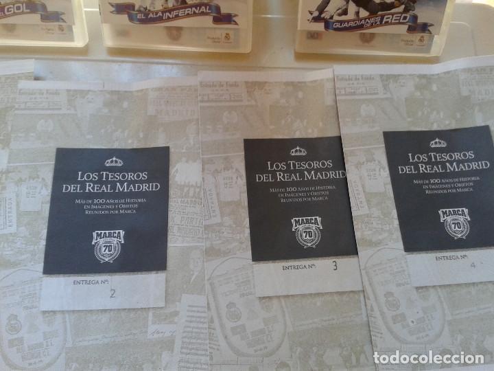 Coleccionismo deportivo: REAL MADRID C.F COLECCION HISTORICA - MATERIAL DIVERSO ( PERIODICOS, POSTER, LAMINAS) - Foto 10 - 164738194
