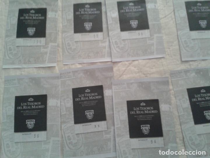 Coleccionismo deportivo: REAL MADRID C.F COLECCION HISTORICA - MATERIAL DIVERSO ( PERIODICOS, POSTER, LAMINAS) - Foto 11 - 164738194