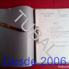Coleccionismo deportivo: TUBAL 1971 FEDERACION CATALANA DE FUTBOL ASAMBLEA REGIONAL. Lote 164750850