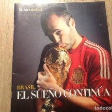 Coleccionismo deportivo: SUPLEMENTO MUNDIAL BRASIL 2014 -EL PAÍS-. Lote 165132854