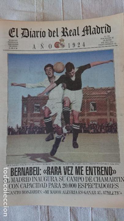 Coleccionismo deportivo: EL DIARIO DEL REAL MADRID CENTENARIO DEL REAL MADRID 1902 - 2002 - Foto 5 - 165203210