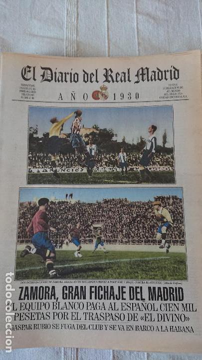 Coleccionismo deportivo: EL DIARIO DEL REAL MADRID CENTENARIO DEL REAL MADRID 1902 - 2002 - Foto 6 - 165203210