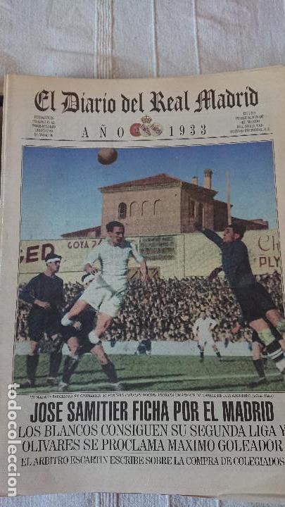 Coleccionismo deportivo: EL DIARIO DEL REAL MADRID CENTENARIO DEL REAL MADRID 1902 - 2002 - Foto 7 - 165203210
