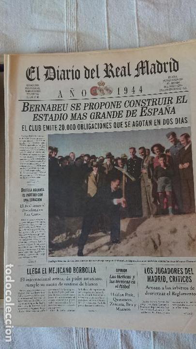 Coleccionismo deportivo: EL DIARIO DEL REAL MADRID CENTENARIO DEL REAL MADRID 1902 - 2002 - Foto 8 - 165203210