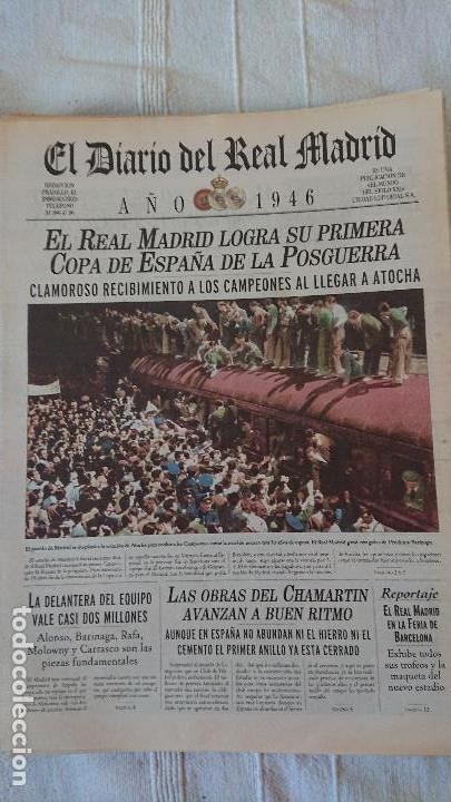 Coleccionismo deportivo: EL DIARIO DEL REAL MADRID CENTENARIO DEL REAL MADRID 1902 - 2002 - Foto 9 - 165203210