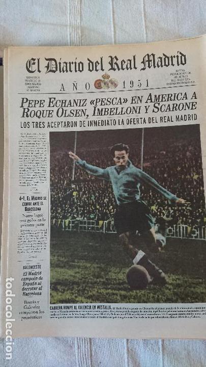 Coleccionismo deportivo: EL DIARIO DEL REAL MADRID CENTENARIO DEL REAL MADRID 1902 - 2002 - Foto 10 - 165203210