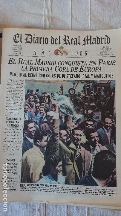 Coleccionismo deportivo: EL DIARIO DEL REAL MADRID CENTENARIO DEL REAL MADRID 1902 - 2002 - Foto 11 - 165203210