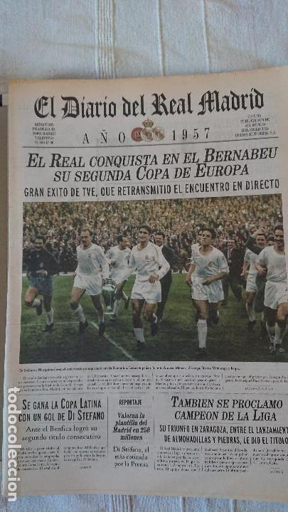 Coleccionismo deportivo: EL DIARIO DEL REAL MADRID CENTENARIO DEL REAL MADRID 1902 - 2002 - Foto 12 - 165203210