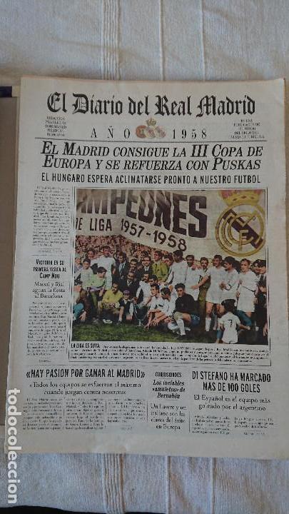Coleccionismo deportivo: EL DIARIO DEL REAL MADRID CENTENARIO DEL REAL MADRID 1902 - 2002 - Foto 13 - 165203210