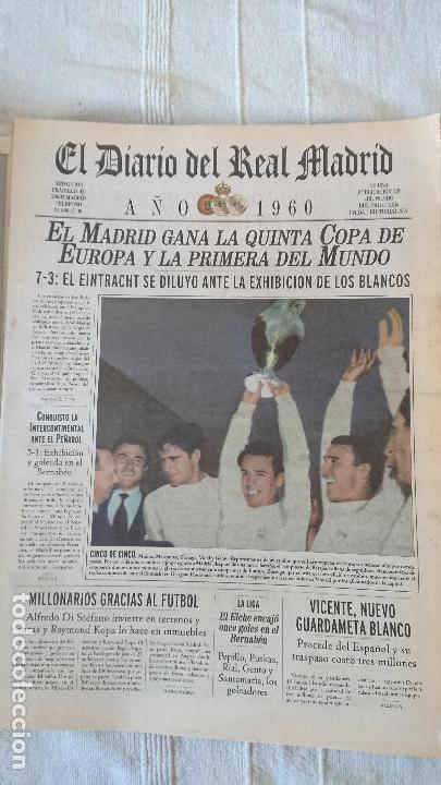 Coleccionismo deportivo: EL DIARIO DEL REAL MADRID CENTENARIO DEL REAL MADRID 1902 - 2002 - Foto 14 - 165203210