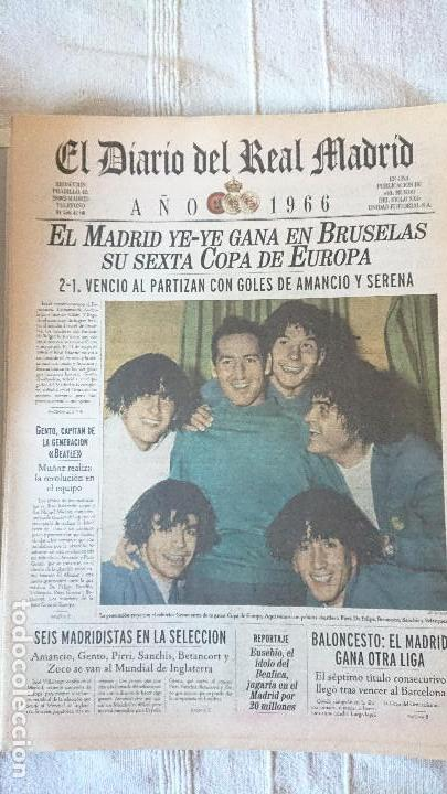 Coleccionismo deportivo: EL DIARIO DEL REAL MADRID CENTENARIO DEL REAL MADRID 1902 - 2002 - Foto 17 - 165203210