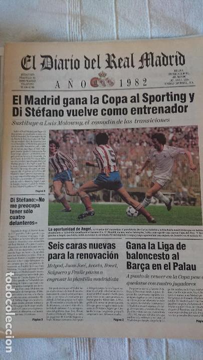 Coleccionismo deportivo: EL DIARIO DEL REAL MADRID CENTENARIO DEL REAL MADRID 1902 - 2002 - Foto 19 - 165203210