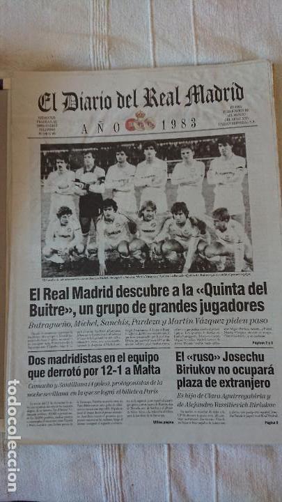 Coleccionismo deportivo: EL DIARIO DEL REAL MADRID CENTENARIO DEL REAL MADRID 1902 - 2002 - Foto 20 - 165203210