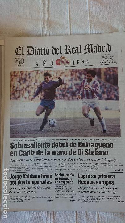 Coleccionismo deportivo: EL DIARIO DEL REAL MADRID CENTENARIO DEL REAL MADRID 1902 - 2002 - Foto 21 - 165203210