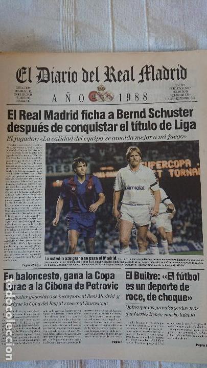 Coleccionismo deportivo: EL DIARIO DEL REAL MADRID CENTENARIO DEL REAL MADRID 1902 - 2002 - Foto 22 - 165203210