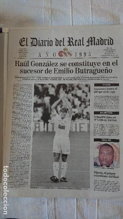 Coleccionismo deportivo: EL DIARIO DEL REAL MADRID CENTENARIO DEL REAL MADRID 1902 - 2002 - Foto 23 - 165203210