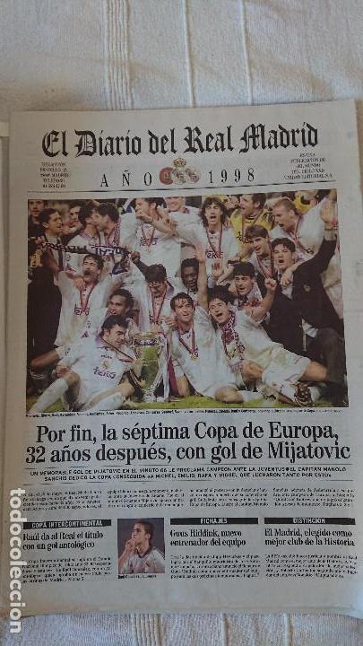 Coleccionismo deportivo: EL DIARIO DEL REAL MADRID CENTENARIO DEL REAL MADRID 1902 - 2002 - Foto 24 - 165203210