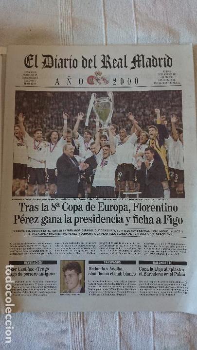 Coleccionismo deportivo: EL DIARIO DEL REAL MADRID CENTENARIO DEL REAL MADRID 1902 - 2002 - Foto 25 - 165203210