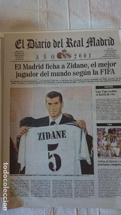 Coleccionismo deportivo: EL DIARIO DEL REAL MADRID CENTENARIO DEL REAL MADRID 1902 - 2002 - Foto 26 - 165203210