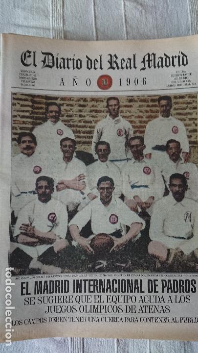 Coleccionismo deportivo: EL DIARIO DEL REAL MADRID CENTENARIO DEL REAL MADRID 1902 - 2002 - Foto 27 - 165203210