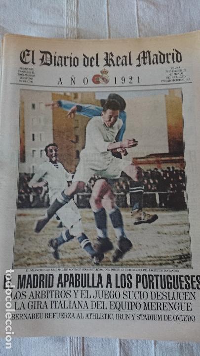 Coleccionismo deportivo: EL DIARIO DEL REAL MADRID CENTENARIO DEL REAL MADRID 1902 - 2002 - Foto 28 - 165203210