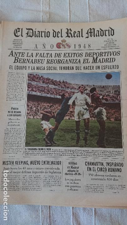 Coleccionismo deportivo: EL DIARIO DEL REAL MADRID CENTENARIO DEL REAL MADRID 1902 - 2002 - Foto 29 - 165203210