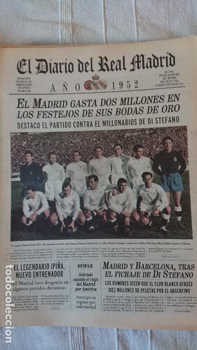 Coleccionismo deportivo: EL DIARIO DEL REAL MADRID CENTENARIO DEL REAL MADRID 1902 - 2002 - Foto 30 - 165203210