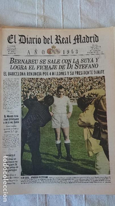 Coleccionismo deportivo: EL DIARIO DEL REAL MADRID CENTENARIO DEL REAL MADRID 1902 - 2002 - Foto 31 - 165203210