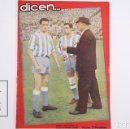 Coleccionismo deportivo: REVISTA / PUBLICACIÓN DE FÚTBOL - DICEN - 1956, Nº 192 - ARGILÉS, GÁMIZ Y RICARDO ZAMORA. ESPAÑOL. Lote 165352218